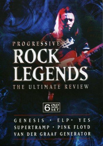 Progressive Rock Legends (6 DVDs) [UK Import] (Generator Rock)