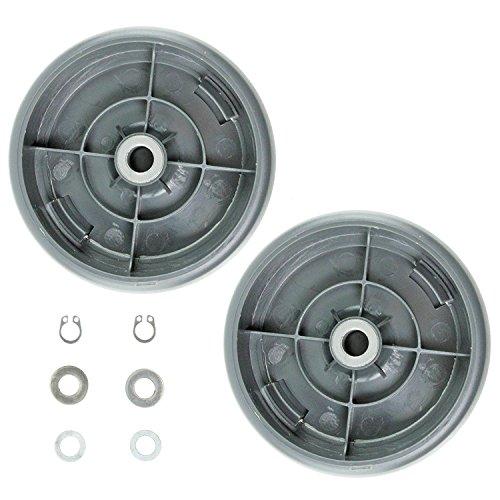 Qualtex Ersatz Gtech Air Ram Räder, 1Paar