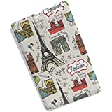 Pendrive   PD-OF-36   Credit Card Type Eiffel Tower Printed 16GB Pen Drive, Fancy Design And Digital Printed Pendrive By 100yellow