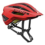 Scott Fuga Plus XC MTB Fahrrad Helm rot 2017: Größe: M (55-59cm)