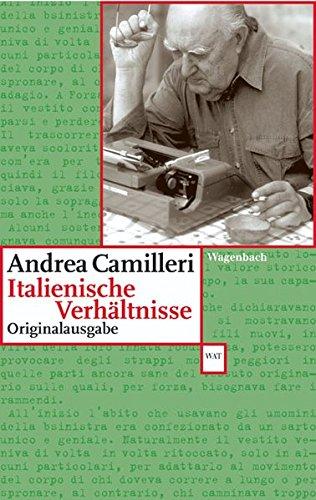 Italienische Verhältnisse: Originalausgabe (WAT, Band 524)
