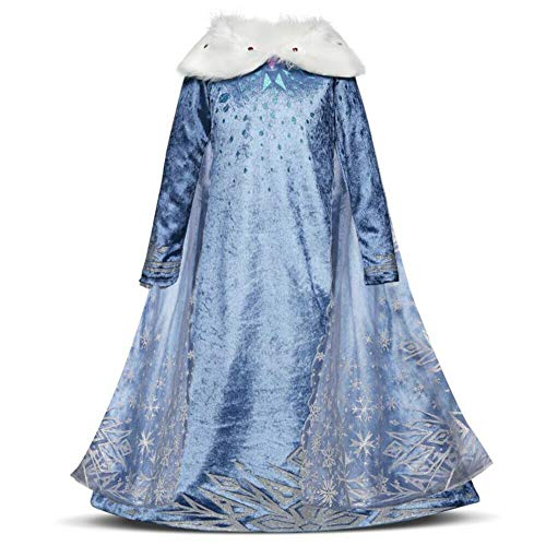 Disfraz de Princesa para niñas de 3 a 8 años