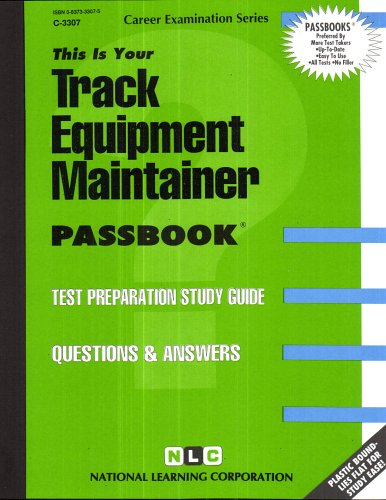 Track Equipment Maintainer (Career Examination Series)
