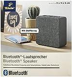 TCM Tchibo Bluetooth Lautsprecher mit Stoffbezug AUX Micro USB