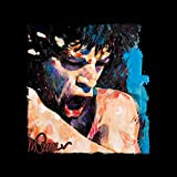 Sidney Maurer Original Portrait of Mick Jagger Shouting Kid's T-Shirt