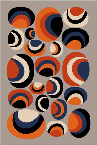 Poster 61 x 91 cm: Seashells #1 01 von Susana Paz - hochwertiger Kunstdruck, neues Kunstposter -