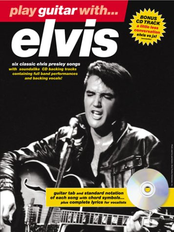 Partition : Presley Elvis Play Guitar With 2002 Edition + Cd par Elvis Presley