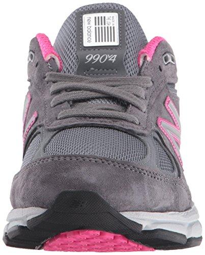 New Balance W990v4, Scarpe da corsa donna grigio Grey/Pink Grey/Pink