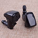 RAISSER® CITALL 2Pcs Windshield Washer Nozzle Jet Front 55079049AA Fit for Jeep Grand Cherokee 2005 2006 2007 20008 2009 2010