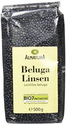 Alnatura Bio Belugalinsen, 500 g