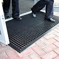 BiGDUG Rubber Mats Outdoor Entrance Non Slip Matting