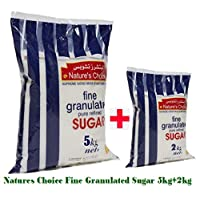 Natures Choice Fine Granulated Sugar - 5kg+2kg