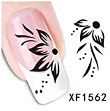 Arte de uñas: Calcomanías y autoadherentes Calcomanía Transferible con Agua Flor Pegatina Tatuaje para Uñas Nail Sticker - FashionLife