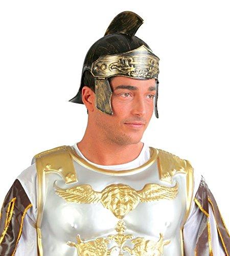 Guirca Helm für Römer Römerhelm für Herren Karneval Fasching Legionär Rom Soldat Kämpfer