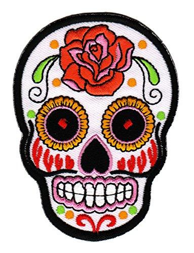 mexican-sugar-skull-weiss-aufnaher-bugelbild
