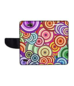 KolorEdge Printed Flip Cover For Huawei Honor Holly Multicolor -(50KeMLogo12480HonorHolly)