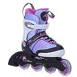 K2 Cadence Jr. Girl Mädchen Inliner Inlineskates größenverstellbar 30C0350 - hellblau/pink