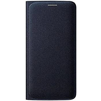 Samsung Flip Wallet Etui pour Samsung Galaxy S6 Edge Noir