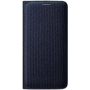 Samsung Flip Wallet Etui pour Samsung Galaxy S6 Edge Noir: Amazon.fr: High-tech