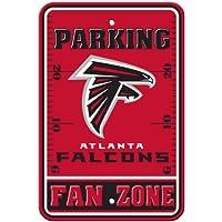 Fremont Die NFL Atlanta Falcons Kunststoff Parking Signs