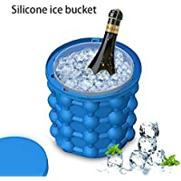 Ganeep Ahorro de Ice Cube Maker Ice Beer Cooler Bar Wine Cabinet Holder Botella Cubos Reutilizables Cristal Colgante