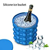 Ganeep Ahorro de Ice Cube Maker Ice Beer Cooler Bar Wine Cabinet Holder Botella Cubos Reutilizables Cristal Colgante