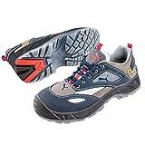 Puma Safety Shoes Aerospace Low S1 ESD SRC, Puma 640660-353 Unisex-Erwachsene Espadrille Halbschuhe, Blau (blau/grau 353), EU 41