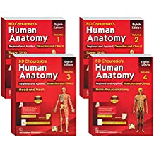 B D Chaurasia's Human Anatomy 4 Volume Set ( Vol.1 to Vol 4)