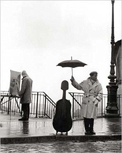 Lámina/Impresión Arte Músico bajo lluvia - Robert