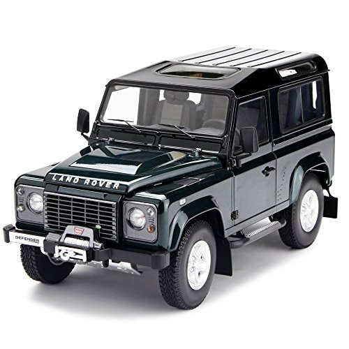 kyosho-118-scale-land-rover-defender-90-aintree-green