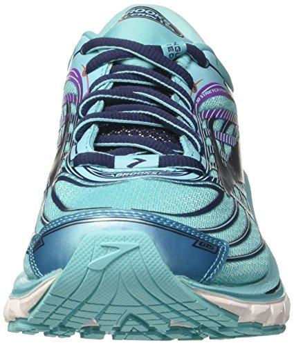 Brooks Glycerin 15, Chaussures de Gymnastique Femme Bleu (Capri/evening Blue/purple Cactus Flower)