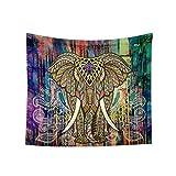 fish Farbige Printed Elefant Tapestry Tier Wandbehang Teppich Bohemian Bedspread Decke Big Yoga Strandtuch