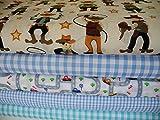 Qjutie Lottashaus 5X 50cm Stoffpaket no111 Stoff Jungen