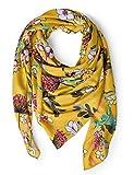 CECIL Damen 570937 Schal, Mehrfarbig (Ceylon Yellow 31892), One Size (Herstellergröße:A)