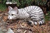 Katze wetterfest Kater Katzenfigur Keramikkatze