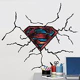 Unbekannt Sticker Wandtattoo Kinder Logo Superman (Warner) Neue Bilder