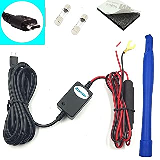 Aiskaer Dash Camera Hardwire Installation Kit Micro-USB for Black Box G1W-X Mini 0803 0805 0806 0826 0903