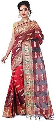 T.J. SAREES Tant Saree Santipuri Fulia Handloom Summer collection Bengal Pure cotton Exclusive Party and weddi