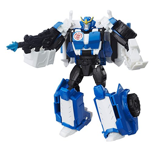 Transformers 4-autos (Hasbro Transformers B0910ES0 - Robots in Disguise Warriors Strongarm, Actionfigur)