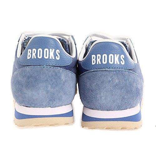 BROOKS W VANGUARD GREY/WBLUE Denim Blue