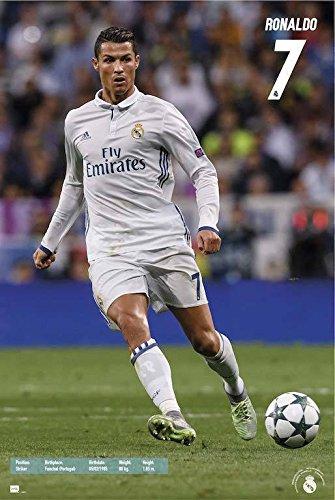 Grupo Erik Editores GPE2077 Real Madrid 2016/2017 Ronaldo Acción – Poster
