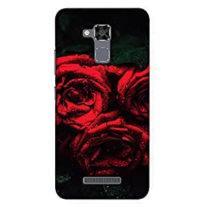DASM United Asus Zenfone 3 Max 5.2inch Premium Back Case Cover - Red Roses