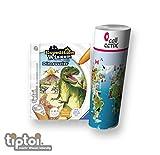 Ravensburger tiptoi  Bücher Set | Expedition Wissen: Dinosaurier + Kinder Weltkarte - Länder, Tiere, Kontinente