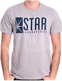 e5c8a8f4d1c98 T-Shirt The Flash DC Comics - Star Laboratories