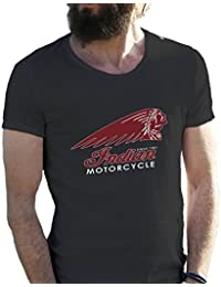 Indian Motorcycle American Bikers Logo Camiseta para hombre