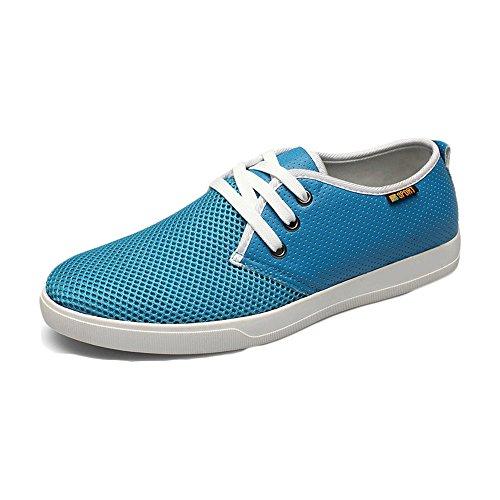 CUSTOME Hommes Chaussures Maille Plat Doux Respirant Mode Extérieure Légère Occasionnelle Chaussures D'exercice