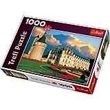 Trefl 10238 - Puzzle (1000 piezas), diseño del Castillo de Chenonceau