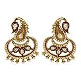 Cyan Sublime Ethnic Earring for Women