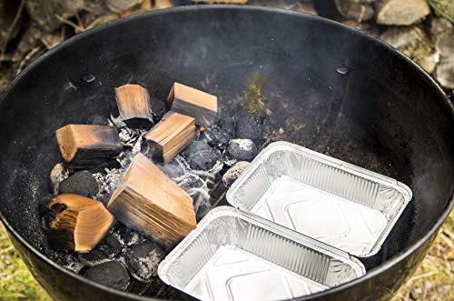 Axtschlag Räucherklötze, Wood Smoking Chunks, Eiche - Oak, Holz, 1,5 kg