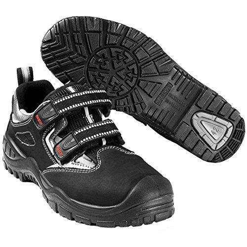 Sandale di di sicurezza S1P, HRC HRO Paldor Mascot Black